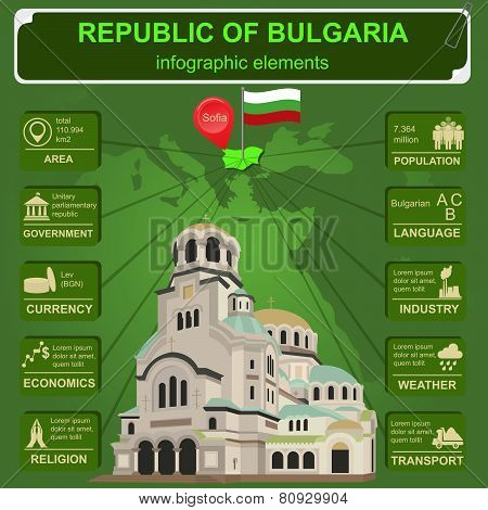 Bulgaria  infographics, statistical data, sights.