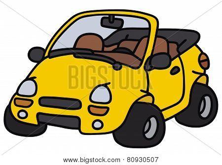 Funny cabriolet