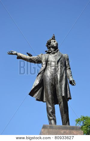 Statue Of Alexander Pushkin.