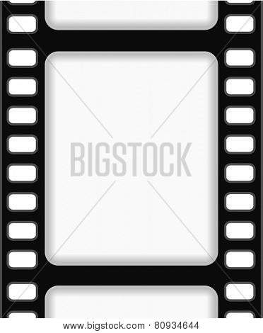 film strip frame background abstract design