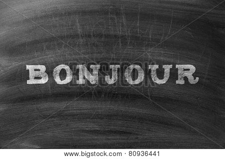 Bonjour On Blackboard