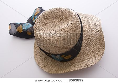 Twisted Straw Hat