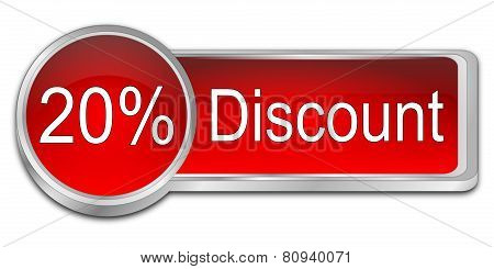 20% Discount Button