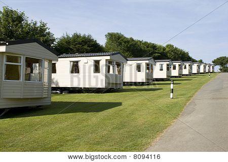 Holiday static caravans