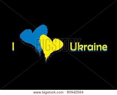 banner i love Ukraine