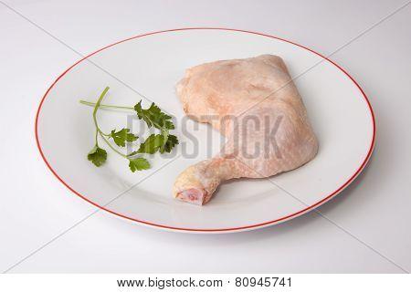 Chicken Leg With Parsley