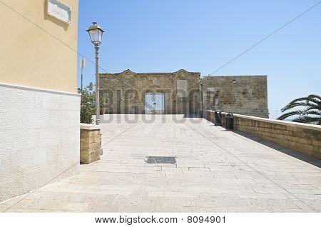 St. Antonio Abbot Small Fort. Bari. Apulia.