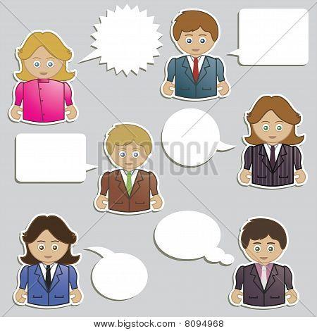 business people speech