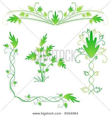 grünen gedeiht