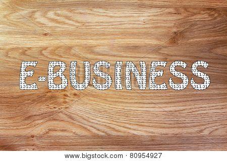 E-business Writing With Binary Code Pattern