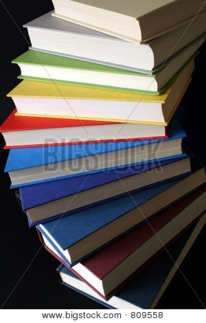 Spirale der colorful books
