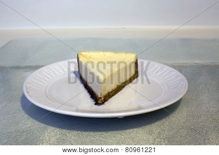 A Serving Of Cheesecake