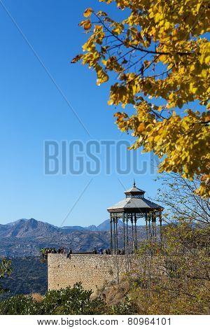 El Tajo Canyon, Ronda, Andalusia, Spain