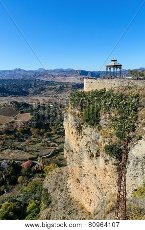 El Tajo Canyon, Ronda, Andalusia, Spain