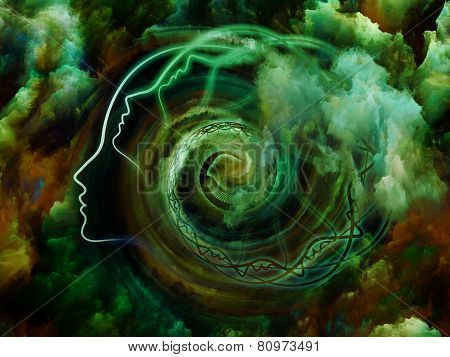 Abstract Dreaming Illustration