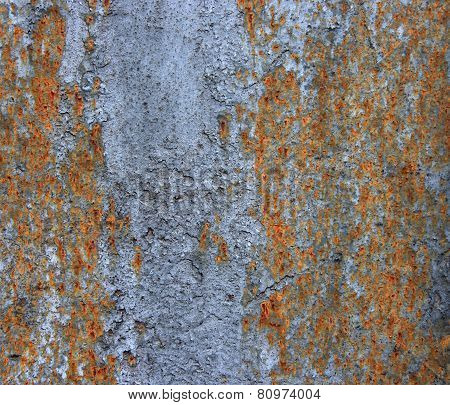 Rusty Black Metallic Background.