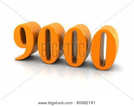 Number 9000