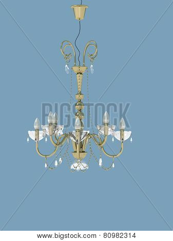 Goldeng Ceiling Lamp