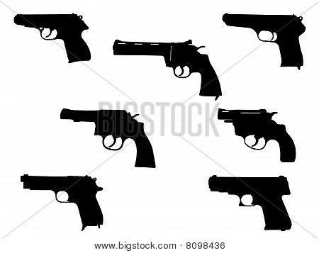 Handgun Silhouette Collection