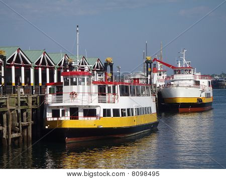 Two Casco Bay Ferries