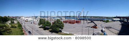 Portland Maine Panoramic