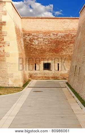 Pedestrian Path On Alba Iulia Fortress