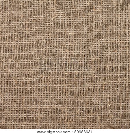 texture of sacking hessian burlap