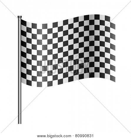 checkered sport flag