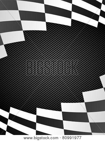 black racing background. eps8
