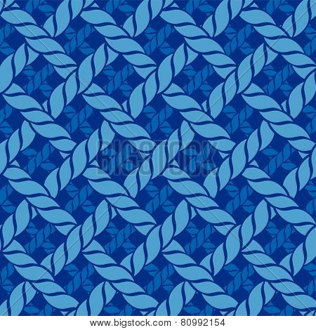 dark blue pattern from ropes. eps8