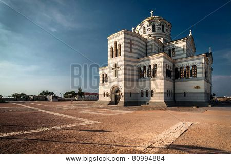 The main cathedral of Chersonesos in Crimea