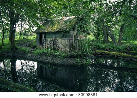 Abandoned Mystical Old House In Lithuania Forest