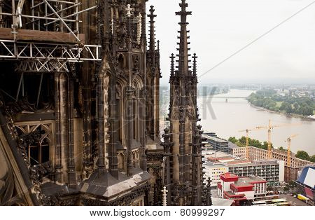View of Cologne, Germany