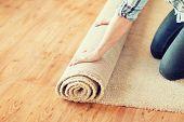 stock photo of carpet  - repair - JPG