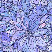 Постер, плакат: Abstract Seamless Doodle Pattern