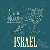 stock photo of israel israeli jew jewish  - Israel landmarks - JPG