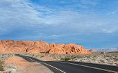 foto of valley fire  - red rock landscape in the Valley of Fire state park in Southern Nevada - JPG