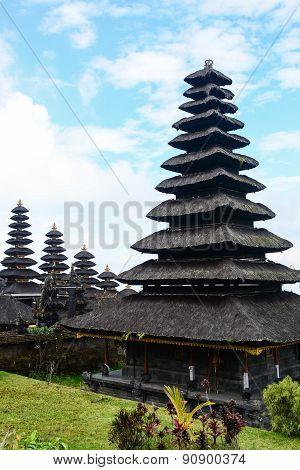 Besakih Temple At Bali, Indonesia