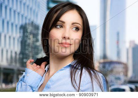 Confident businesswoman portrait