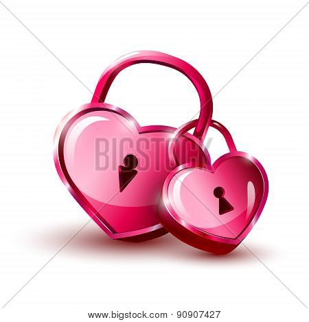 Red Hearts. Valentine`s Day