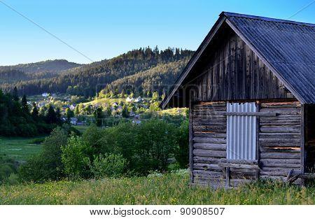 Hut On The Mountain