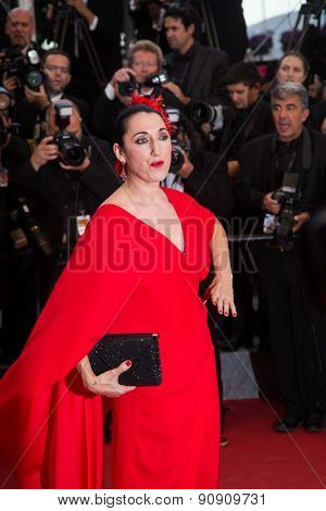 Rossy de Palma attends the Premiere of 'Irrational Man' during the 68th annual Cannes Film Festival on May 15, 2015 in Cannes, France.