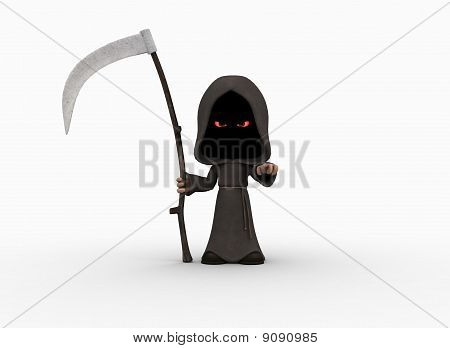 cute little grim reaper