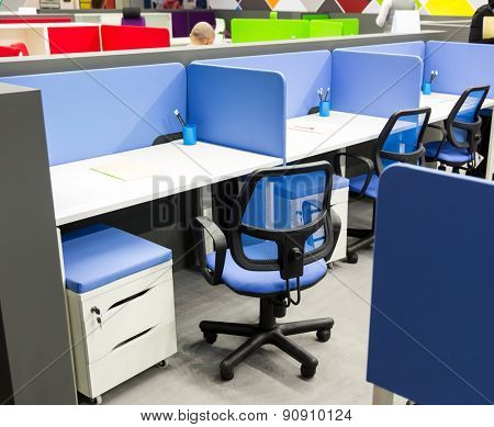 Office worker's place