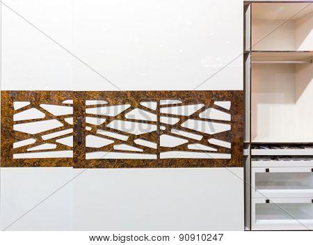 Modern sliding-door wardrobe