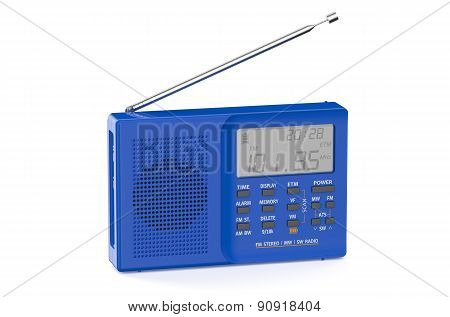 Blue Digital Radio