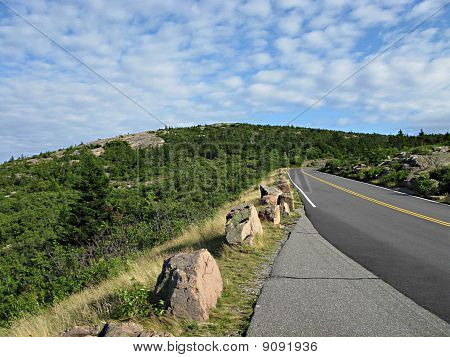 Acadia National Park Scenic View taken in Summer
