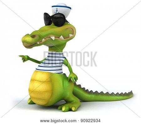 Fun crocodile