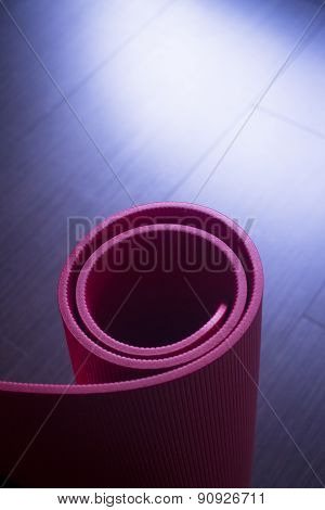 Red Fitness Yoga And Pilates Foam Gym Mats