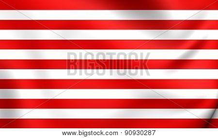 Flag Of Goes, Netherlands.